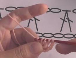 编织人生视频学堂第93集-----2针长针并1针