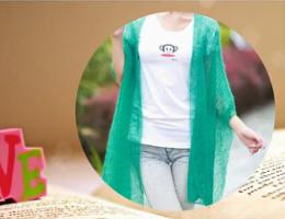 编织人生视频学堂---云马作品水绿色围巾零基础教程