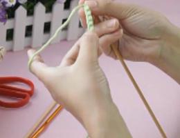 编织人生视频学堂第2集---锁针起针(1) 同线锁针起针