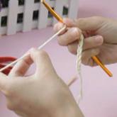 编织人生视频学堂第3集----锁针起针(2)别线锁针起针方法