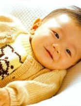 儿童男式小熊图案毛衣编织教程