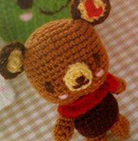 钩针玩偶之手掌熊的教程图解
