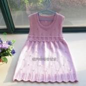 春夏款儿童毛衣之淑女宝宝连衣裙利来国际最给利的老牌