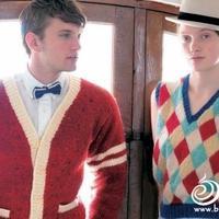 学院风男生女生毛衣编织款式