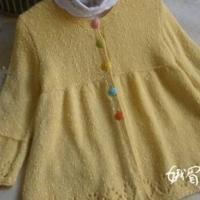 小魔仙 棒针编织儿童开衫图解教程