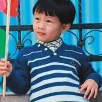 棒针编织儿童毛衣编织款式图片