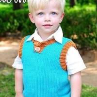 儿童夏季针织服装款式欣赏