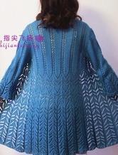 蕾丝志田演绎文艺范女士长款开衫