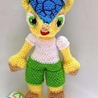 巴西世界杯吉祥物 三色犰狳的制作图解