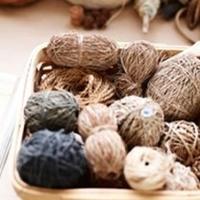 手工艺术家Helle Jorgensen的编织工作室