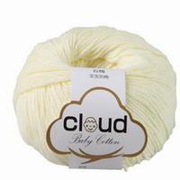 云棉 纯天然有机棉宝宝线 云系毛线 品牌毛线