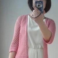 甜美蕾丝针织开衫 棒针女士毛衣教程