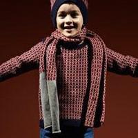 欧美奢侈大牌儿童冬季针织服饰欣赏