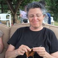 爱沙尼亚蕾丝披肩作者南希·布什 针织设计师