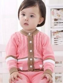 婴幼儿毛衣的尺寸(0岁-2岁)