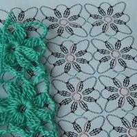 如何编织拼花毛衣 整花一线连的方法教学