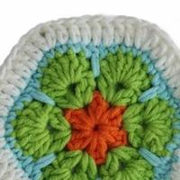 零基础学编织 非洲花格子毯子的花片编织篇