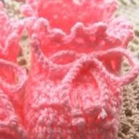 钩针编织婴儿宝宝鞋视频教程