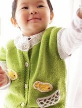 从上往下织宝宝开衫编织教程