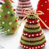 手工编织圣诞节装饰物 萌化你的圣诞节编织小物