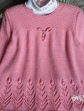 3-6岁儿童毛衣教程 编织方法与编织图解