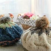 帽子织法 手工编织帽子教程 毛线帽编织
