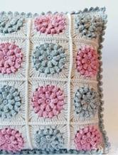 坐垫编织 手工编织坐垫 抱枕编织方法