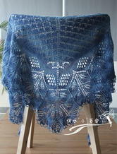 三角披肩 手工编织披肩花样 女士披肩围巾编织方法