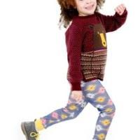 12款简约时尚的儿童毛衣编织款式推荐