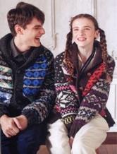 情侣编织 情侣款毛衣编织 手工编织情侣款式