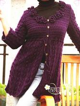 长款毛衣 女士中长款毛衣外套 长款编织毛衣专辑