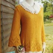 森女毛衣 森女范毛衣编织方法 如何编织森女系毛衣