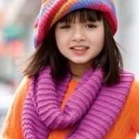 编织帽子花样 儿童帽子围巾款式大全