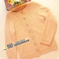 米洛 简约百搭棒针编织羊毛开衫