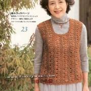 中老年毛衣编织实例