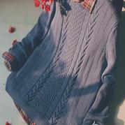 男士毛衣编织 男士毛衣花样图解 男士毛衣编织教程