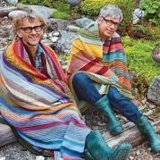 挪威手工编织达人安&卡洛斯