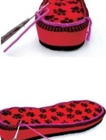 钩毛线拖鞋鞋面视频_钩针编织拖鞋的方法和步骤(上)-编织教程-编织人生