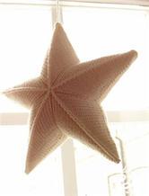 圣诞小物之棒针小星星翻译教程