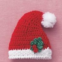 缩小版圣诞帽编织图解