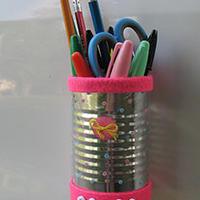 旧物改造 DIY笔筒教程