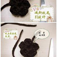 五花瓣钩针编织教程