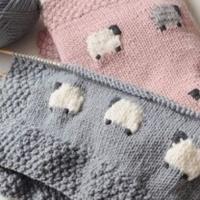 编织小羊图库 2015年快乐编织绵羊款式