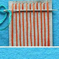 手工编织杯垫教程