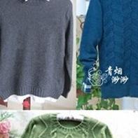 17款棒针男士毛衣精品汇总(2014年10月~12月)