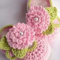 萌萌哒婴儿编织鞋 手工编织婴儿鞋款式欣赏