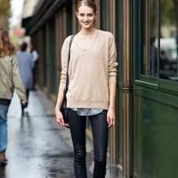 毛衣如何搭配 毛衣加铅笔裤的时尚搭配