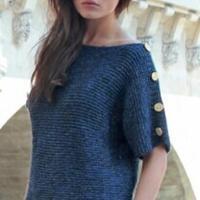 2015春季女士棒针毛衣流行款预告