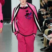 Sibling创意编织时尚多彩的男士毛衣