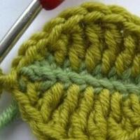 爱尔兰钩针编织叶子教程